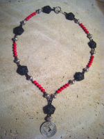 Cinnabar Necklace FOR SALE by ThreeRingCinema