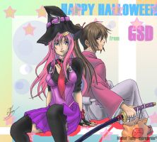 Happy Halloween From GSD by spirapride