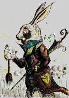 White Rabbit by LordColinOneal