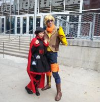Ruby and her Big Brother Yang? by busto44