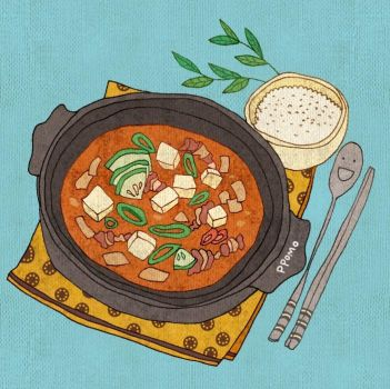 Food - Doenjang Stew (Korean Food) by PPOMO