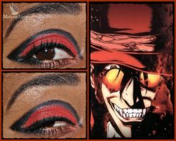 Eye Design: Alucard by MakeupSiren