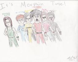 MMPR: TNG IT'S MORPHIN TIME by Jred20