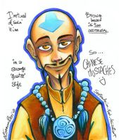 Alternative Adult Aang by LONelloid