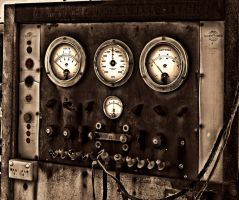 Steam Punk Gauges by nicbrindell