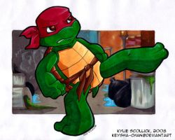 Toddler Raph by KeyshaKitty