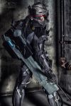 Metal Gear Rising: Raiden by DigitalHikari