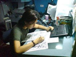 me drawing by MicoSuayan
