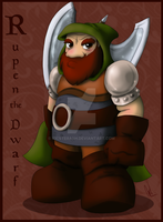 The 7 Guides: Rupen the Dwarf by KicsterAsh