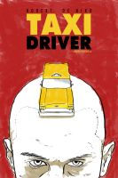 Taxi Driver Watercolor Poster by Karbacca