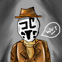 Rorschach is Confused by LeviathanDances