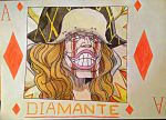 One Piece Diamante Card by KumadoriCP9