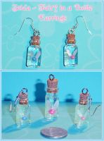 Zelda Fairy in a Bottle Charms by YellerCrakka