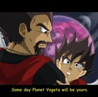 Planet Vegeta by brocken-jr