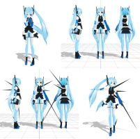MMD LAT CEM Model download by Xenosnake