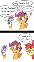 Coolest Friend Ever by grilledcat