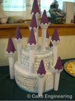 castle cake by cake-engineering