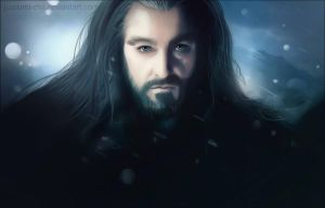 Thorin Oakenshield portrait by Kimi-Kiiro