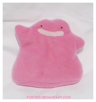 Ditto plush by Fox7XD
