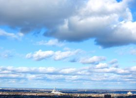 Heavenly Clouds Above Montreal by Kitteh-Pawz