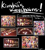 KEYCHAIN PHOTOS by kimchii