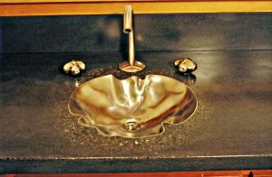 Crenelated sink installed by ou8nrtist2