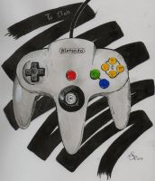 N64 Controller by Destroma