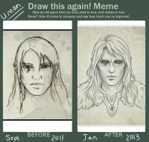 Draw This Again - Uman by Gnewi