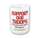 Support Our Troops Mug by Ancient-Hoofbeats