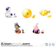 Dragon Ball vista Icons by Iconshock