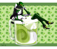 Happy Green Beer Day by Devoid-Kiss