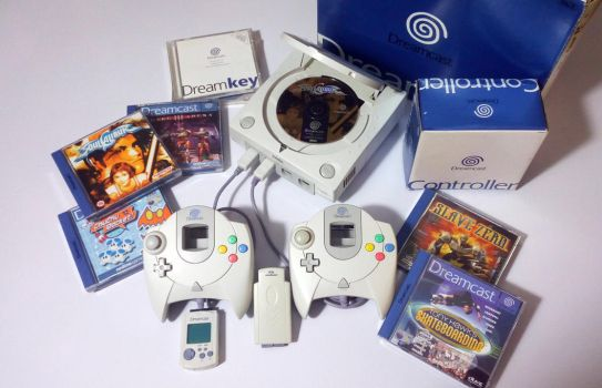 My Dreamcast collection. by GrimShady