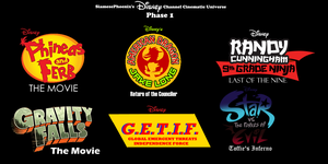 Disney Channel Cinematic Universe Phase 1 W/Logos by SiamesePhoenix