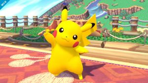 Pikachu - Super Smash Bros. Wii U by kurothehedgehog12