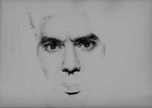 Russell Brand (Incomplete) by scumrunt