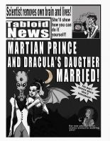 Tabloid issue 1 Cover by dunesayer