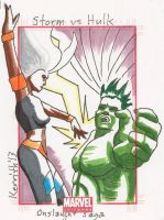 OS Storm vs Hulk by KerrithJohnson