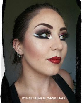 drag inspired by MissTwiztid