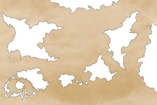 [WIP] Unnamed World Map by valhaia