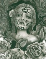 day of the dead by thetattooedgirl
