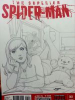 mary jane bedroom sketchcover by Sajad126