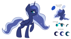 Luna Reference by WoodenDolphin