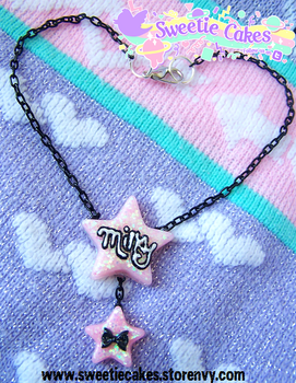 Wish Upon a Milky Star Necklace by SweetiexCakes