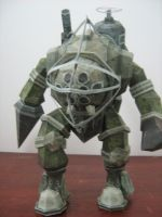 Big Daddy Papercraft by rafael2912