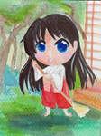 Sailor Mars Chibi by CKDreamer
