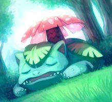 Venusaur by Lysa