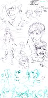massive sketchdump april 2011 by paranoidiomatic