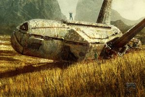 In The Wheatfield by steve-burg