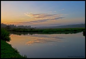 Sunrise Newport Back Bay by AirshowDave