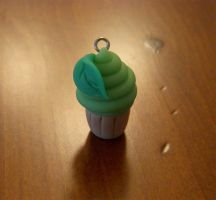 green tea cupcake by Remyreaper